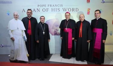 إطلاق فيلم البابا فرنسيس